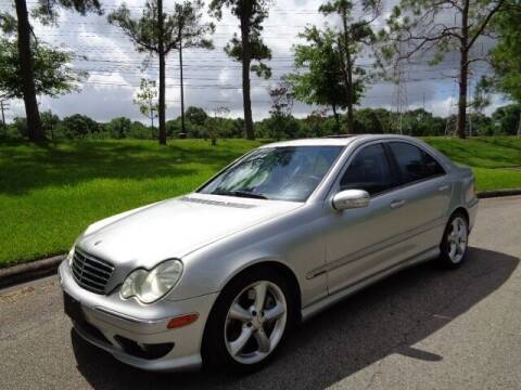 2005 Mercedes-Benz C-Class for sale at Houston Auto Preowned in Houston TX