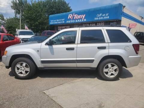 2005 Jeep Grand Cherokee for sale at R Tony Auto Sales in Clinton Township MI