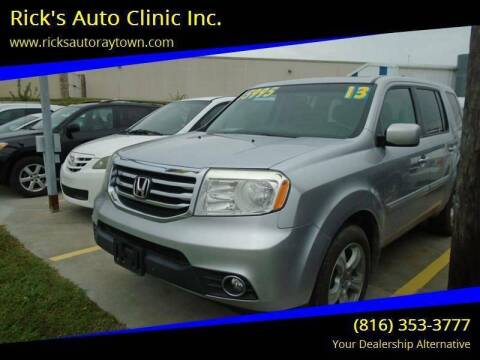 2013 Honda Pilot for sale at Rick's Auto Clinic Inc. in Raytown MO