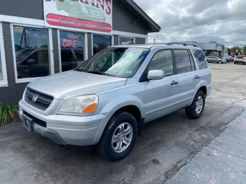 2005 Honda Pilot for sale at Martins Auto Sales in Shelbyville KY