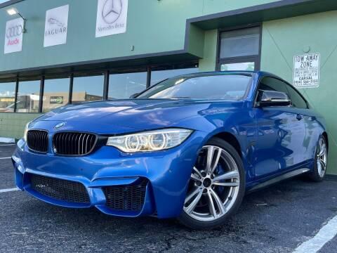 2014 BMW 4 Series for sale at KARZILLA MOTORS in Oakland Park FL