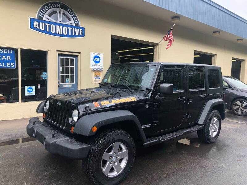 2010 Jeep Wrangler Unlimited for sale at HUDSON ROAD AUTOMOTIVE in Stow MA