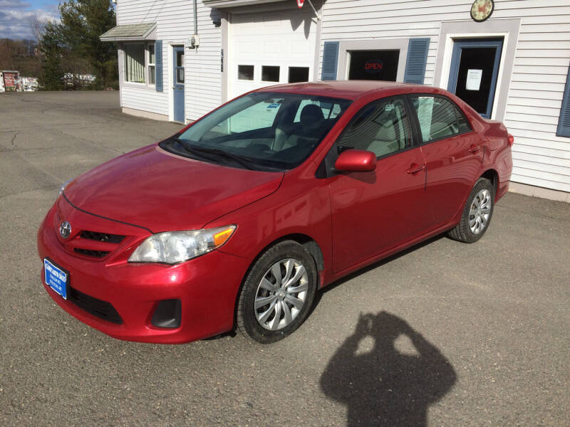 2012 Toyota Corolla for sale at CLARKS AUTO SALES INC in Houlton ME