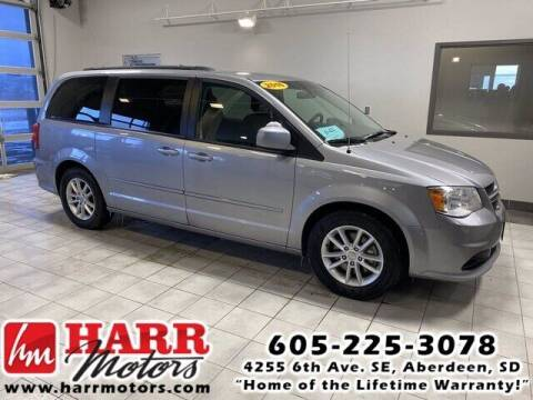 2016 Dodge Grand Caravan for sale at Harr's Redfield Ford in Redfield SD