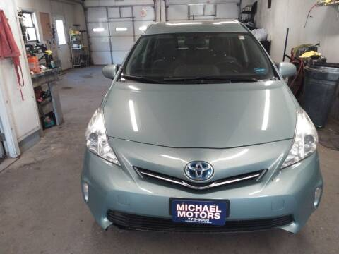 2013 Toyota Prius v for sale at MICHAEL MOTORS in Farmington ME