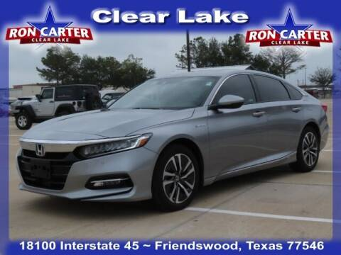2020 Honda Accord Hybrid for sale at Ron Carter  Clear Lake Used Cars in Houston TX