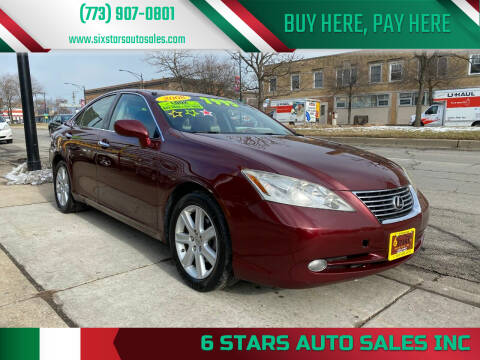 2008 Lexus ES 350 for sale at 6 STARS AUTO SALES INC in Chicago IL