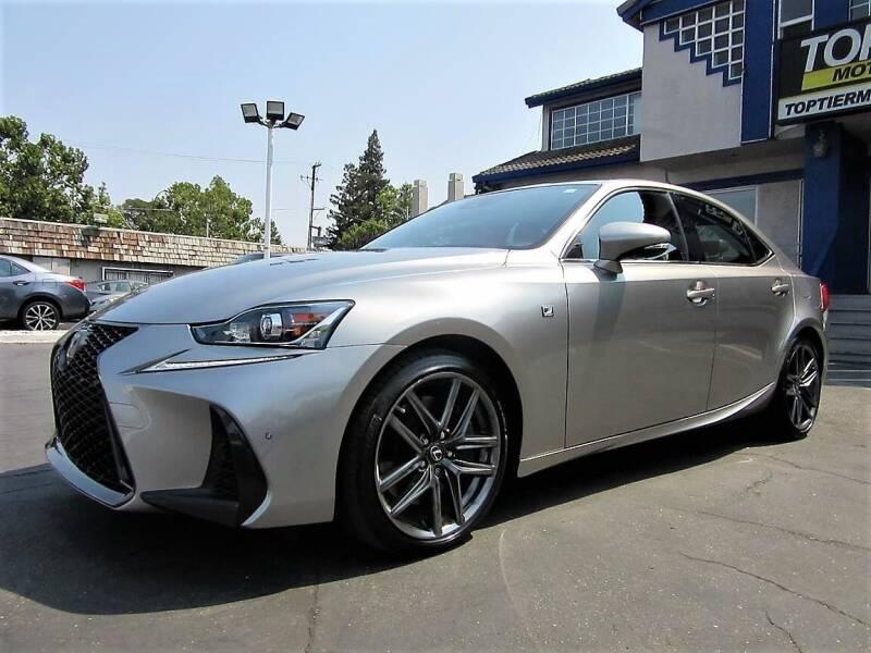 2018 Lexus IS 300 for sale at Top Tier Motorcars in San Jose CA