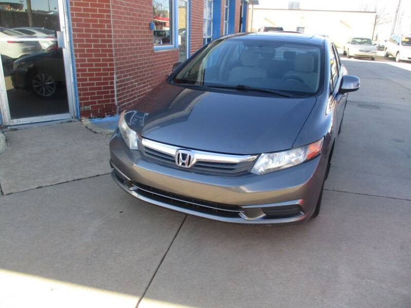 2012 Honda Civic for sale at Discount Motor Sales LLC in Wichita KS