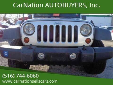2011 Jeep Wrangler Unlimited for sale at CarNation AUTOBUYERS, Inc. in Rockville Centre NY