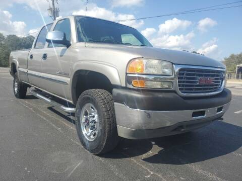 2002 GMC Sierra 2500HD for sale at Thornhill Motor Company in Lake Worth TX