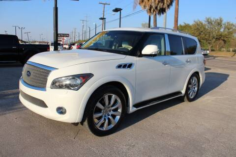2012 Infiniti QX56 for sale at Flash Auto Sales in Garland TX