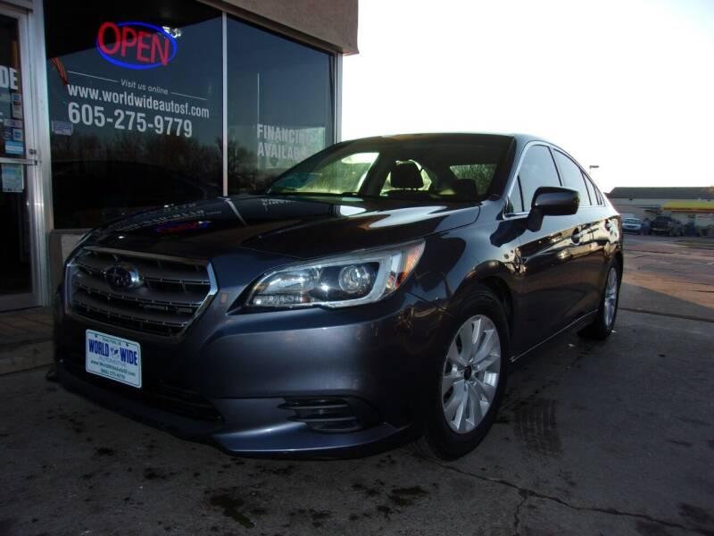 2016 Subaru Legacy for sale at World Wide Automotive in Sioux Falls SD