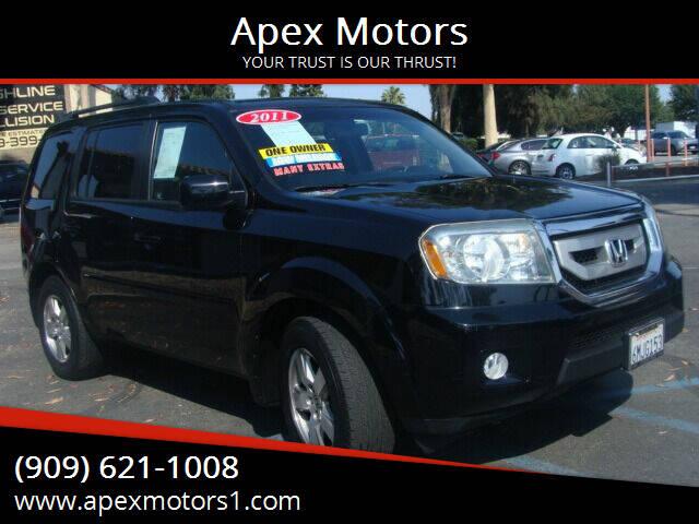 2011 Honda Pilot for sale at Apex Motors in Montclair CA
