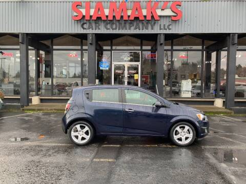 2016 Chevrolet Sonic for sale at Siamak's Car Company llc in Salem OR