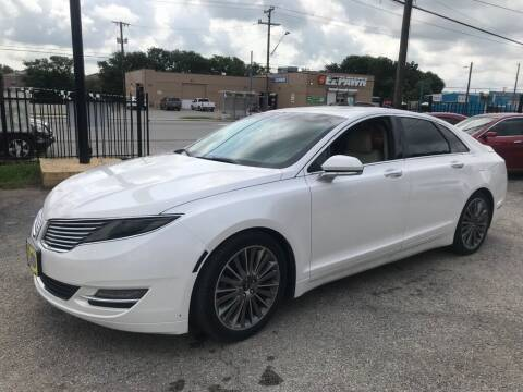 2013 Lincoln MKZ for sale at Race Auto Sales in San Antonio TX