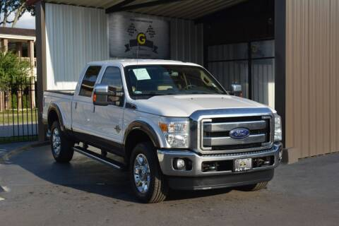 2016 Ford F-250 Super Duty for sale at G MOTORS in Houston TX