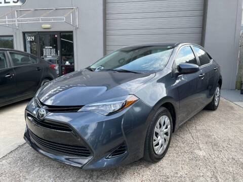 2017 Toyota Corolla for sale at PARK PLACE AUTO SALES in Houston TX