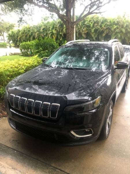 2019 Jeep Cherokee for sale at Internet Motorcars LLC in Fort Myers FL
