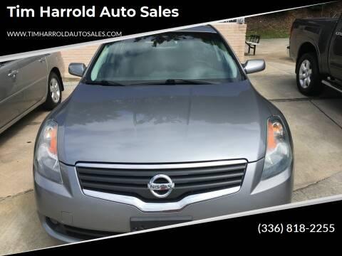 2008 Nissan Altima for sale at Tim Harrold Auto Sales in Wilkesboro NC