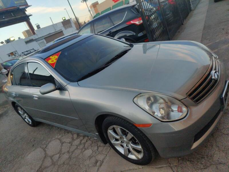 2006 Infiniti G35 for sale at Sanaa Auto Sales LLC in Denver CO