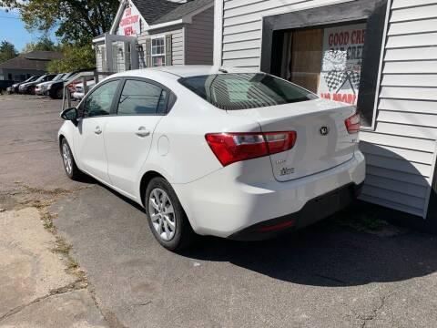 2015 Kia Rio for sale at Alpha Motors in Scranton PA
