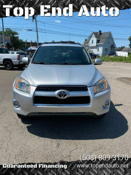 2010 Toyota RAV4 for sale at Top End Auto in North Attleboro MA