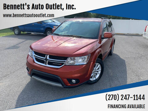 2014 Dodge Journey for sale at Bennett's Auto Outlet, Inc. in Mayfield KY