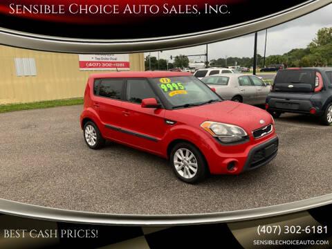 2013 Kia Soul for sale at Sensible Choice Auto Sales, Inc. in Longwood FL