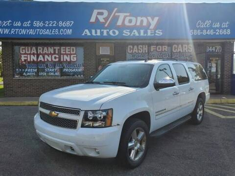 2011 Chevrolet Suburban for sale at R Tony Auto Sales in Clinton Township MI