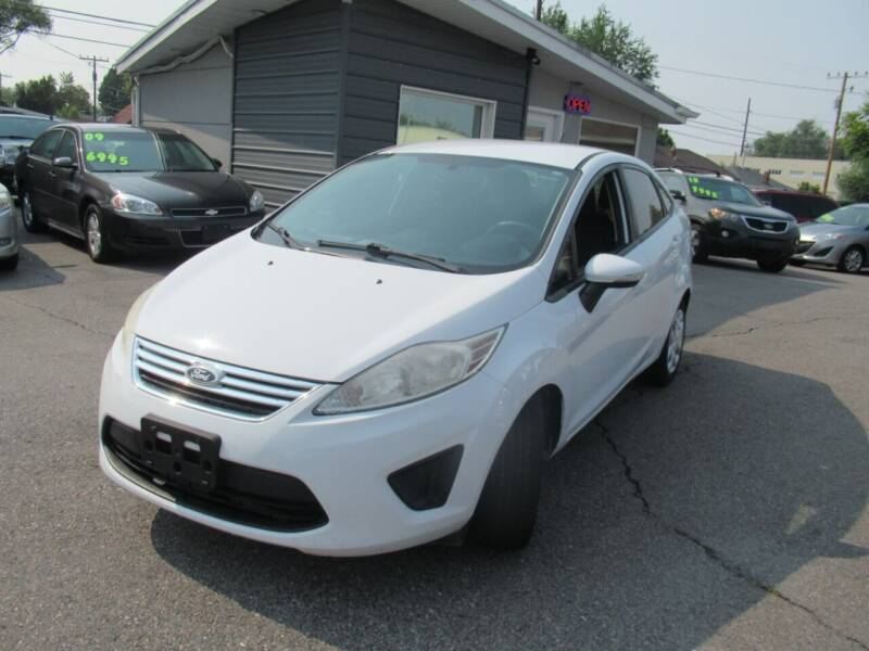 2013 Ford Fiesta for sale at Crown Auto in South Salt Lake UT
