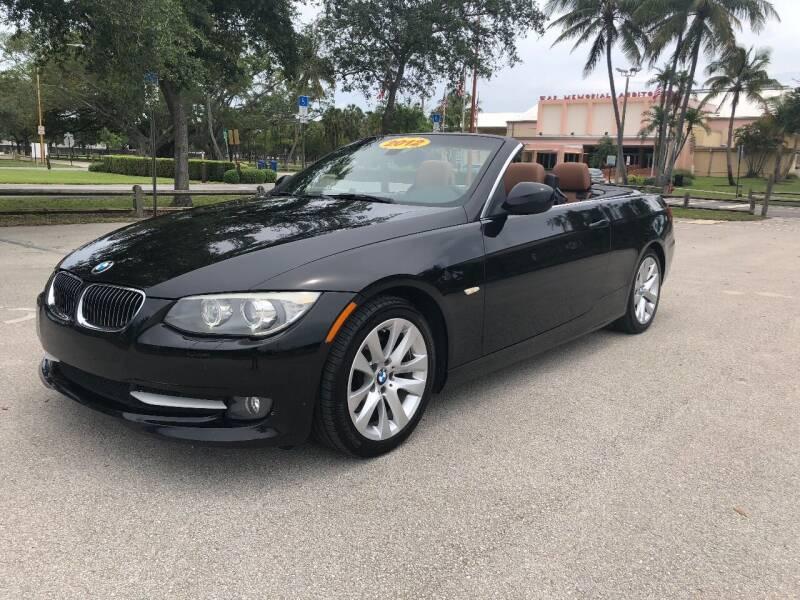 2012 BMW 3 Series for sale at BIG BOY DIESELS in Ft Lauderdale FL