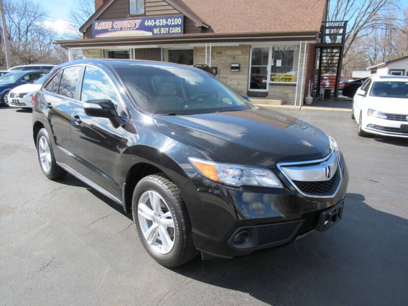 2015 Acura RDX for sale at Lake County Auto Sales in Painesville OH