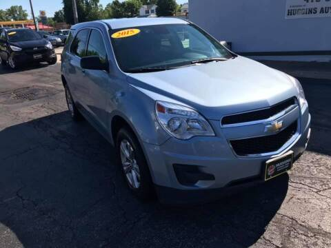 2015 Chevrolet Equinox for sale at Huggins Auto Sales in Ottawa OH