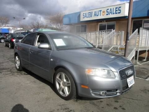 2005 Audi A4 for sale at Salem Auto Sales in Sacramento CA