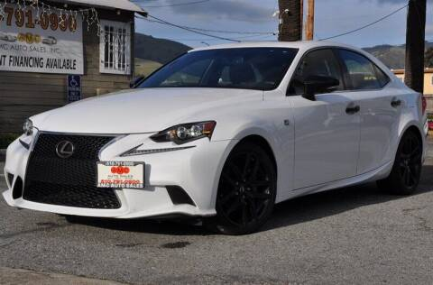 2015 Lexus IS 250 for sale at AMC Auto Sales, Inc. in Fremont CA