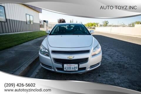 2012 Chevrolet Malibu for sale at Auto Toyz Inc in Lodi CA