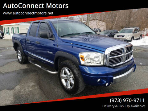 2008 Dodge Ram Pickup 1500 for sale at AutoConnect Motors in Kenvil NJ