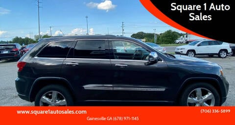 2011 Jeep Grand Cherokee for sale at Square 1 Auto Sales - Commerce in Commerce GA