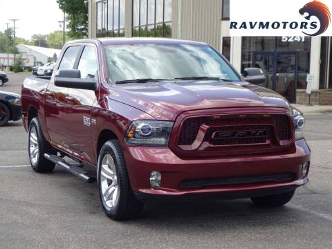 2017 RAM Ram Pickup 1500 for sale at RAVMOTORS 2 in Crystal MN
