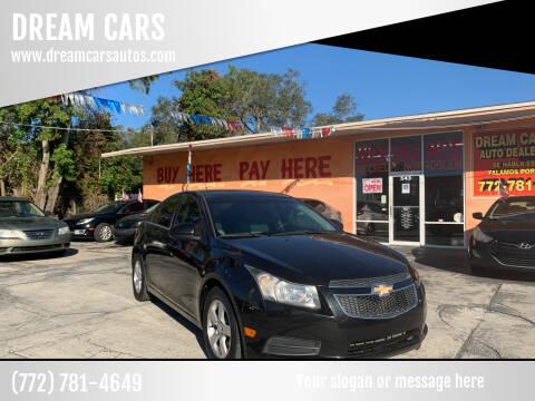 2013 Chevrolet Cruze for sale at DREAM CARS in Stuart FL