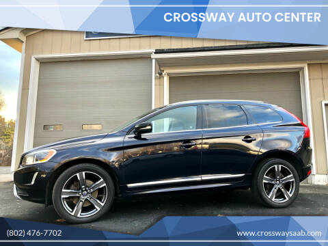 2017 Volvo XC60 for sale at CROSSWAY AUTO CENTER in East Barre VT
