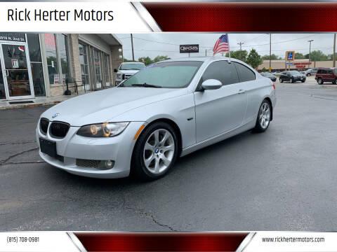 2008 BMW 3 Series for sale at Rick Herter Motors in Loves Park IL