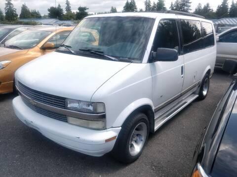 1996 Chevrolet Astro for sale at SS MOTORS LLC in Edmonds WA