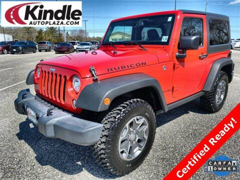 2018 Jeep Wrangler JK for sale at Kindle Auto Plaza in Middle Township NJ