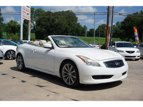 2009 Infiniti G37 Convertible for sale at Sand Springs Auto Source in Sand Springs OK