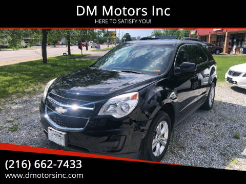 2012 Chevrolet Equinox for sale at DM Motors Inc in Maple Heights OH