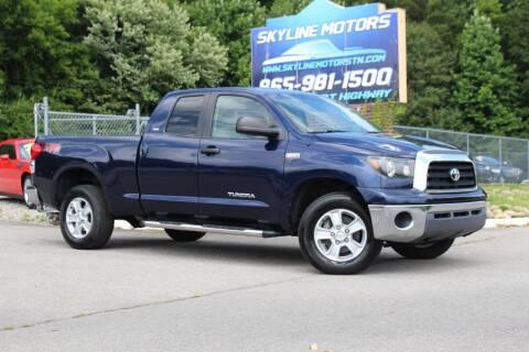 2007 Toyota Tundra for sale at Skyline Motors in Louisville TN