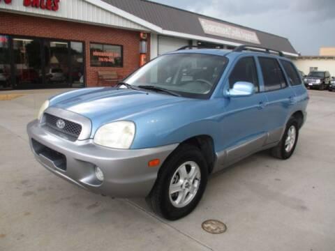 2003 Hyundai Santa Fe for sale at Eden's Auto Sales in Valley Center KS