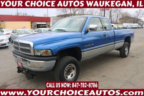 1995 Dodge Ram Pickup 2500 for sale at Your Choice Autos - Waukegan in Waukegan IL